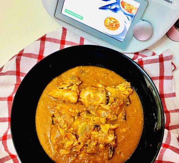 Pollo al Chilindrón en Thermomix® TM6