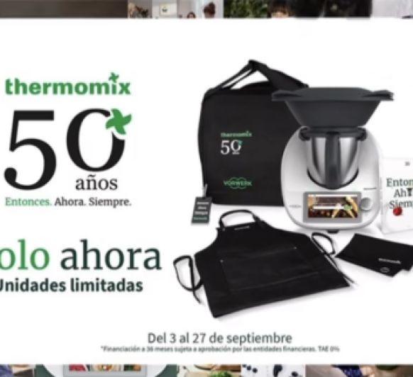 Edición 50 aniversario Thermomix® TM6 al 0% de interés