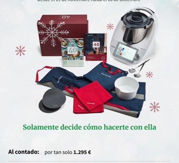 OPORTUNIDAD UNICA Thermomix® TM6 PACK NAVIDAD Y FINANCIACION SIN INTERESES