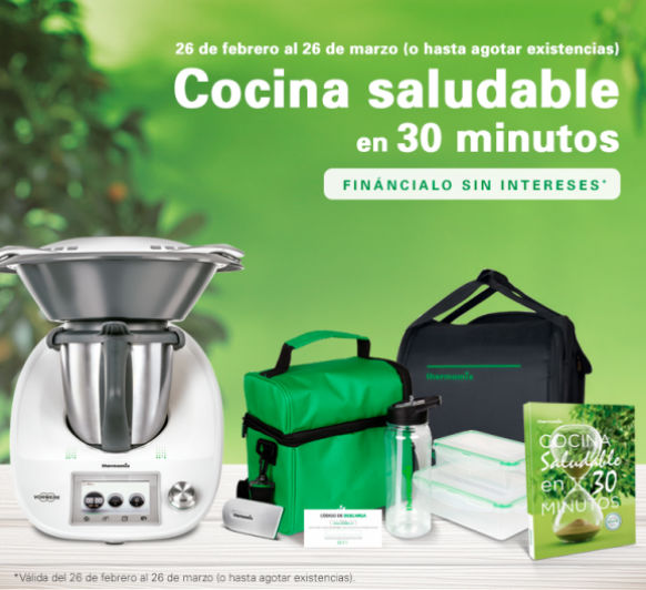 Financiacion 0% Thermomix® solo quedan 2 dias
