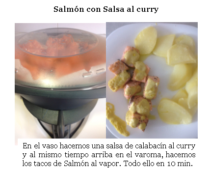 SALMÓN CON SALSA AL CURRY - Thermomix®