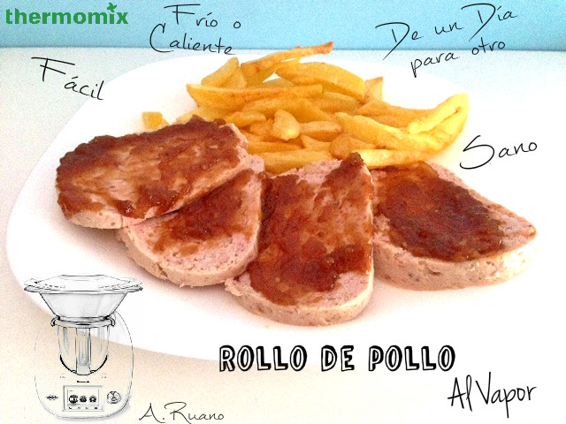 Rollo de Pollo con Thermomix®