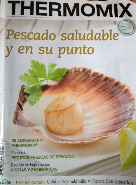 Revista Thermomix® mes de Junio nº 68 Pescado Saludable y en Su Punto