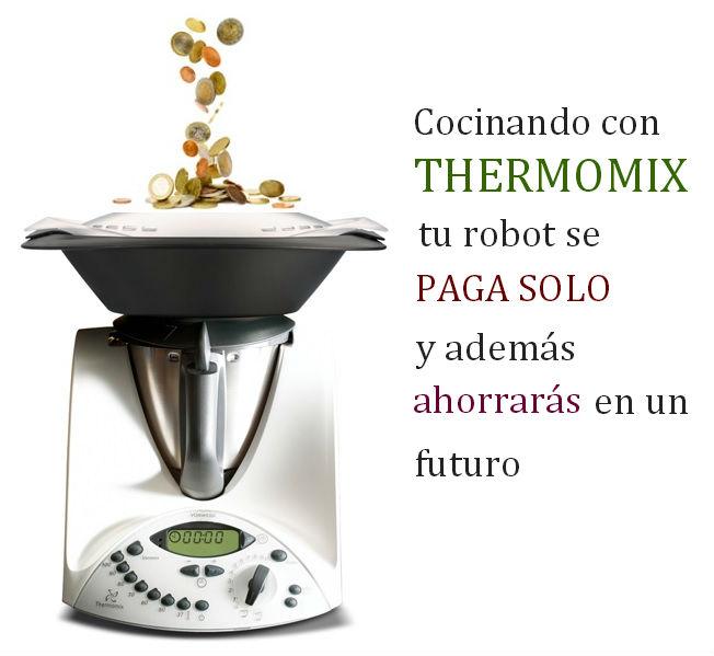 Promoción Sin Intereses. Cocinando con Thermomix® , tu robot se paga sólo y además ahorrarás en un futuro