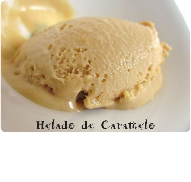 AL RICO HELADO!! DE CARAMELO CON Thermomix®