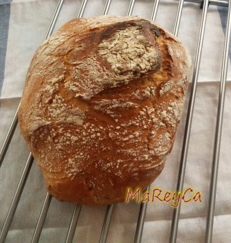 Pan de orégano y sésamo