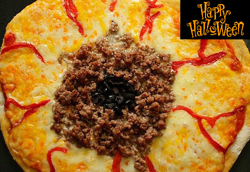 PIZZA HALLOWEEN con Thermomix®