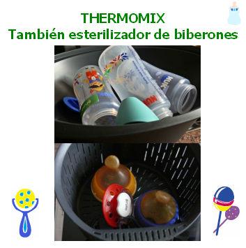 Thermomix® . También esterilizador de biberones