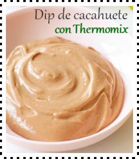 DIP DE CACAHUETE CON Thermomix®