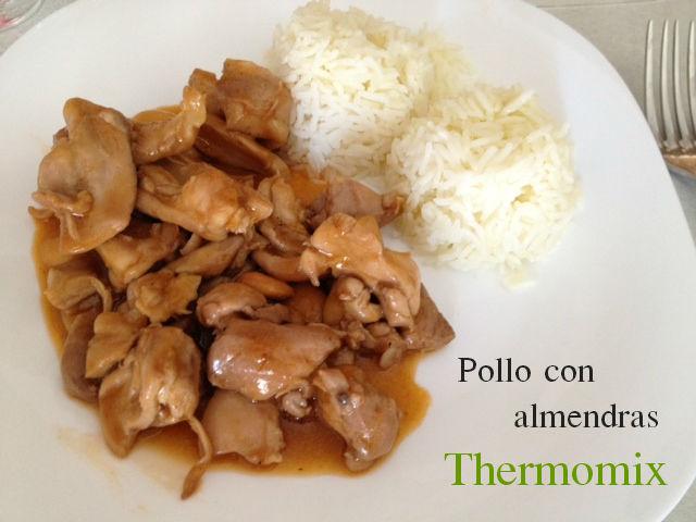 Plato único: Pollo con almendras - Thermomix®