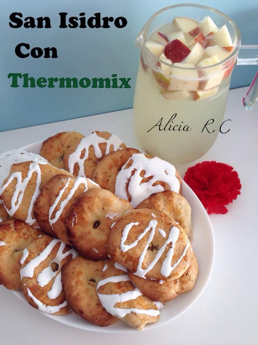 San Isidro, Rosquillas Tontas y Listas, Limonada Madrileña con Thermomix®