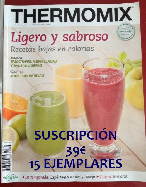 Revista Thermomix® mes de Mayo nº 67 Ligero y Sabroso
