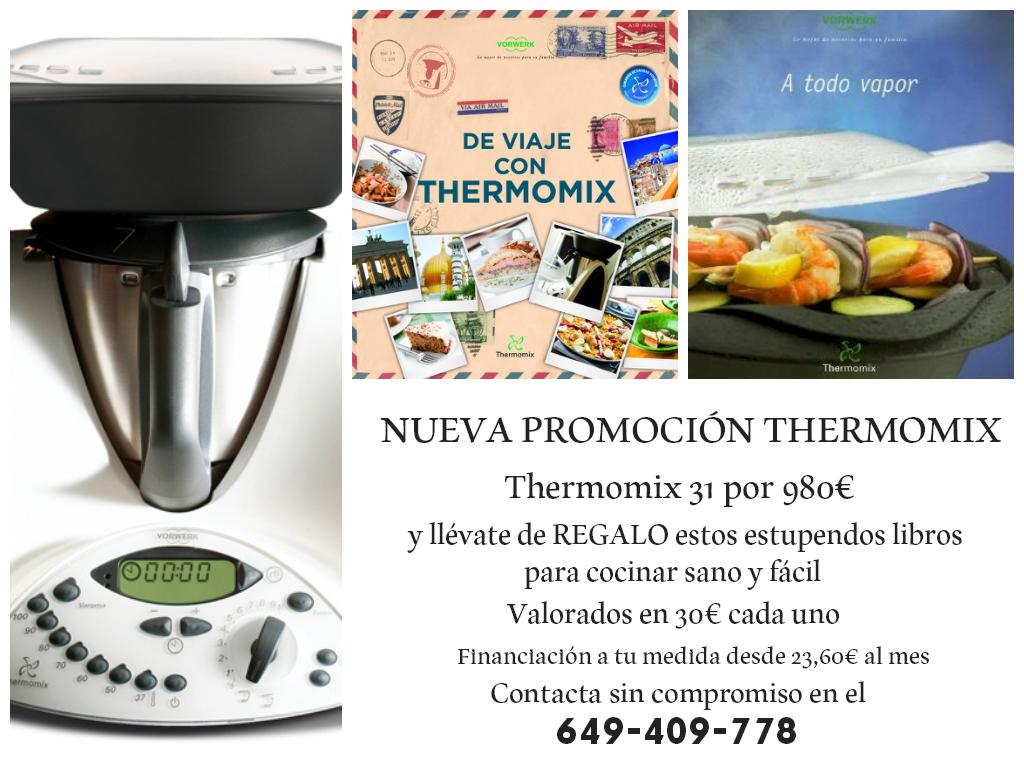 Nueva Promoción Thermomix® A todo Vapor y De Viaje con Thermomix®
