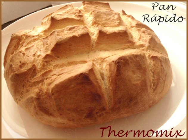 PAN RÁPIDO CON Thermomix® !!!
