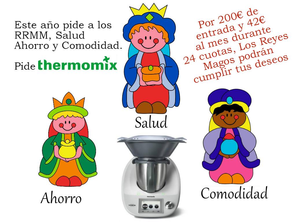 Thermomix® 5 El regalo perfecto de los Reyes Magos