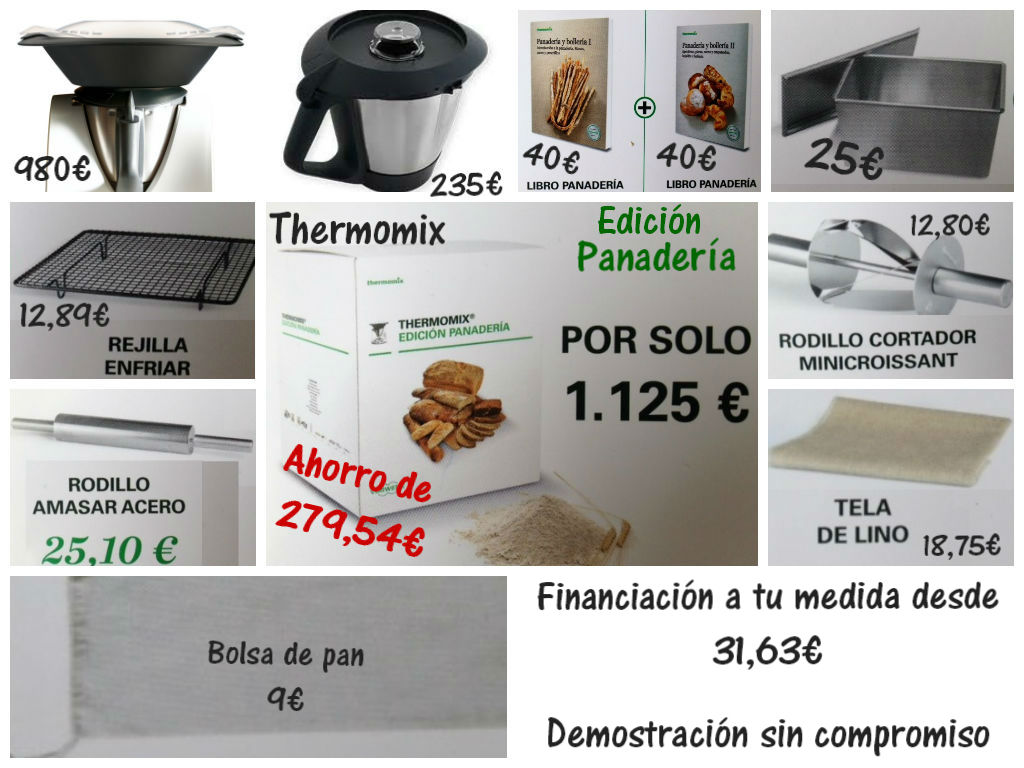 PANADERÍA Y BOLLERÍA PRÓXIMO VIERNES EN Thermomix® SAN SEBASTIÁN DE LOS REYES