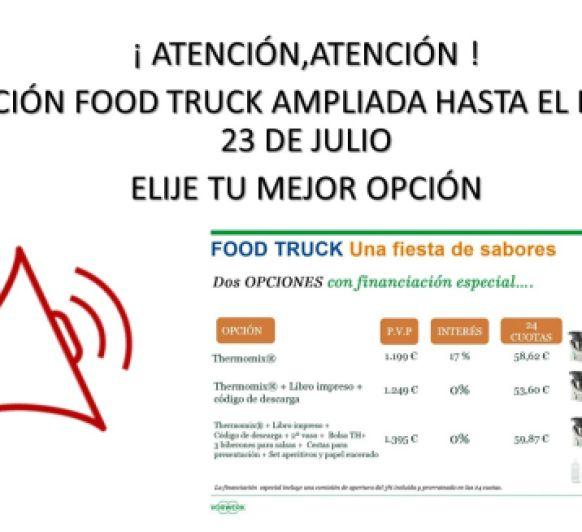 Ampliación edición Food Truck