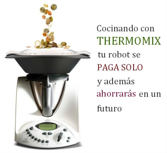 Promoci n sin intereses cocinando con thermomix tu for Cocinar con robot