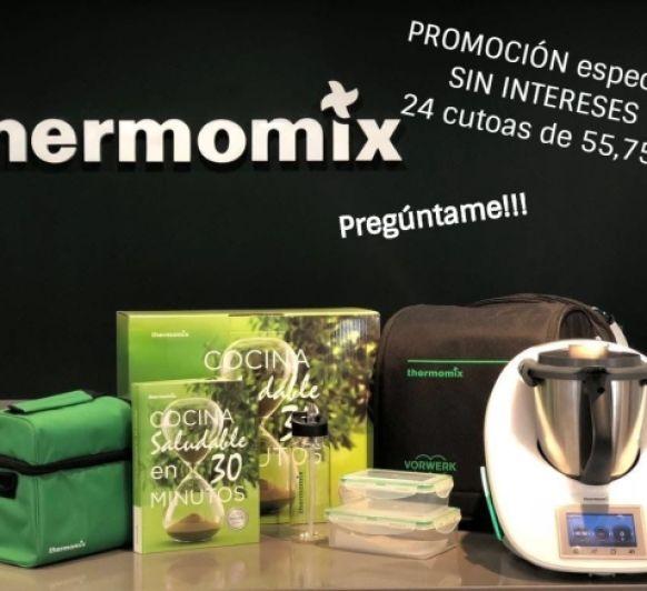 COCINA SALUDABLE EN 30 MINUTOS CON Thermomix® . SIN INTERESES.