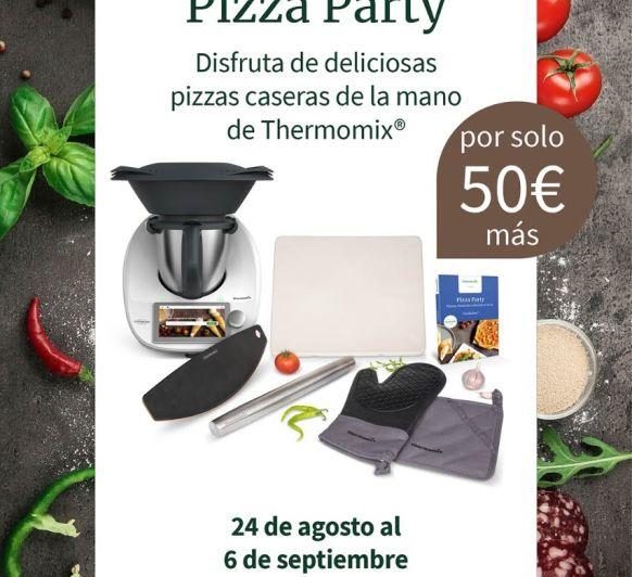 Pizza casera, con Thermomix® y la edición PIZZA PARTY