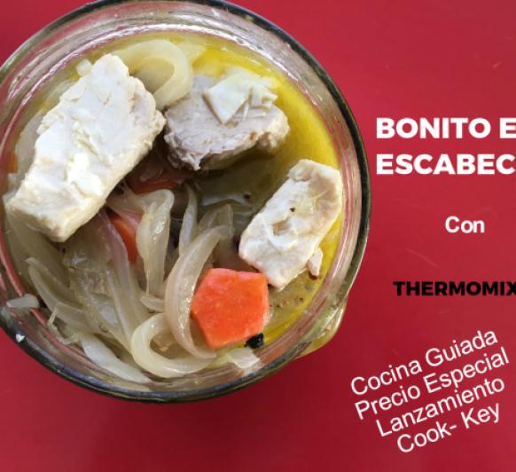 Bonito en Escabeche con Thermomix® . Cocina guiada Cook Key