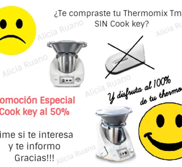 ADQUIERE TU COOK-KEY CON DESCUENTO, A MITAD DE PRECIO. Y DISFRUTA DE TU Thermomix® AL 100%