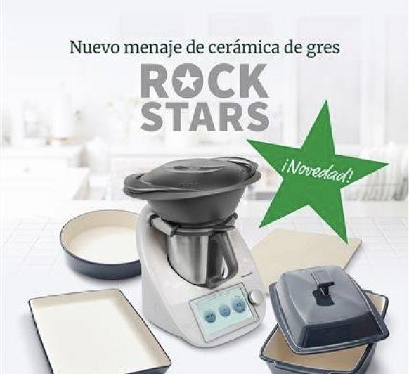 Consigue la colección RockStars con tu Thermomix® TM6 solo hasta el 21 de Septiembre
