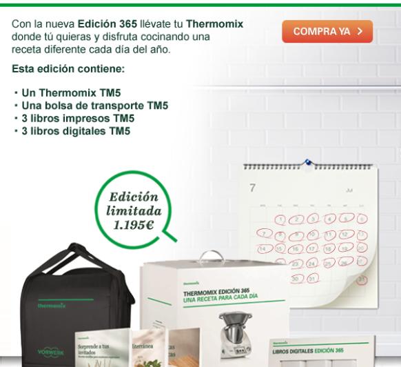 El mejor regalo para tu mama Un Thermomix® TM5