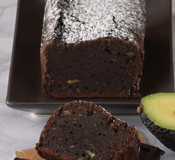 Especial sin gluten chocolateros...Bizcocho de chocolate y aguacate