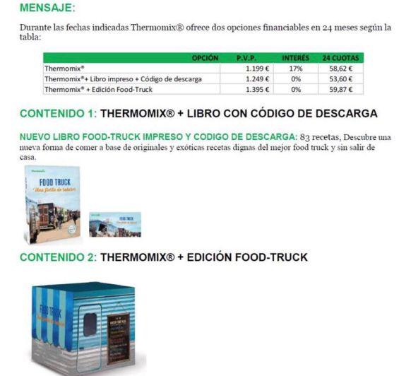 Edición Food Truck, 0%
