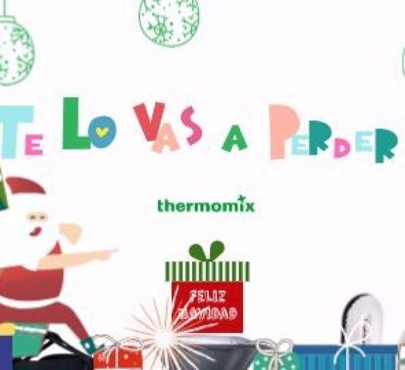 Esta Navidad regala salud, tiempo, ahorro, placer... Regala Thermomix® . Para toda la familia.