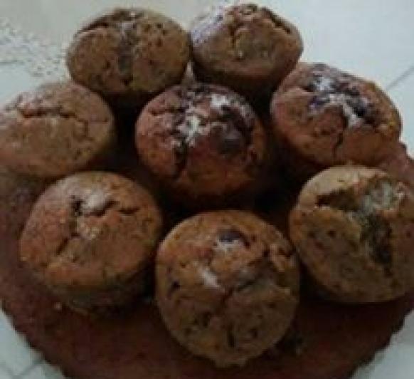 Pastel de Calabacin y Chocolate con TM5