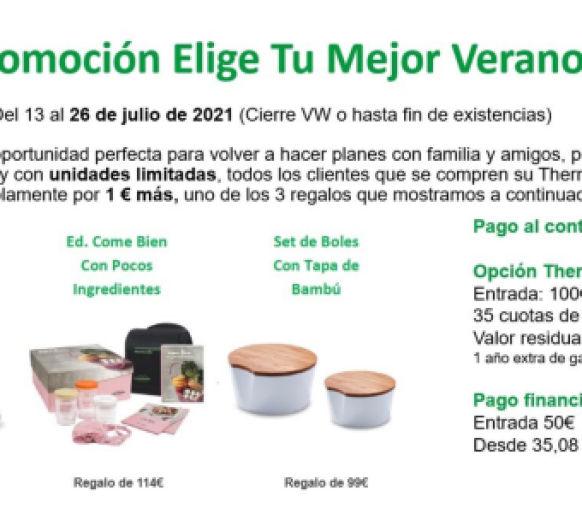 Elige tu verano Thermomix® , por 1€