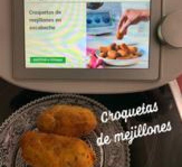 CROQUETAS DE MEJILLONES EN ESCABECHE CON Thermomix® Y COOKIDOO