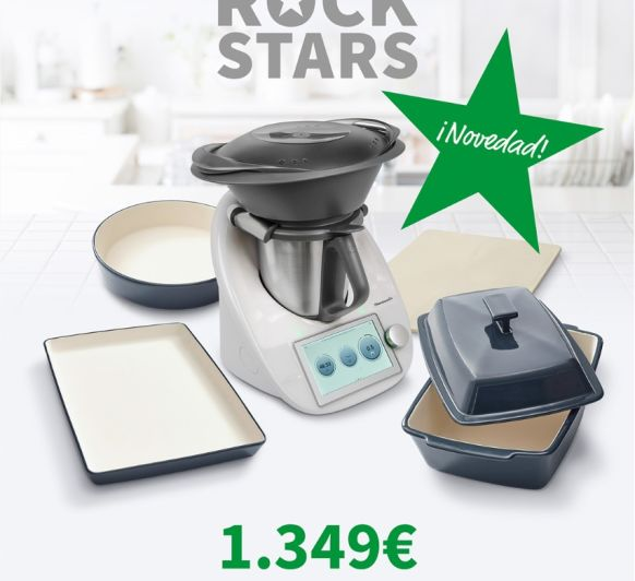Thermomix® TM6 Y EDICIÓN ROCK STARS