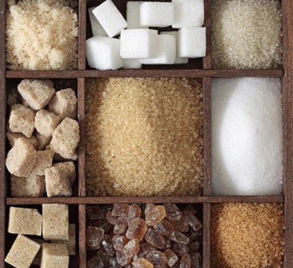 Tipos de azúcar y su uso en la cocina