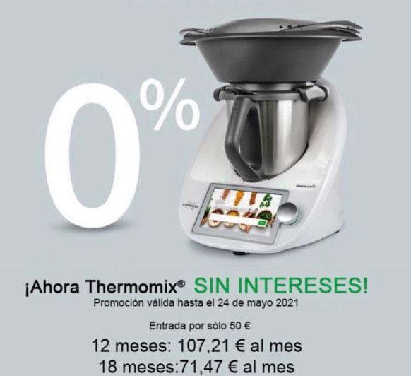 ¡atención! Financiación a tu medida con Thermomix®
