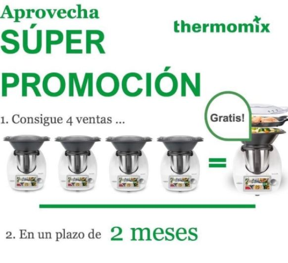 ¡¡CONSIGUE TU Thermomix® GRATIS!!