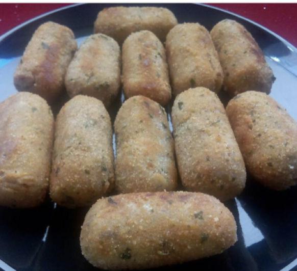 Croquetas de maicena (sin gluten)