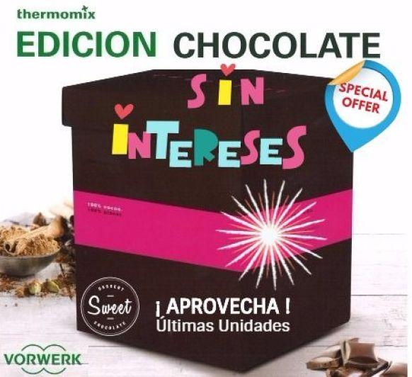 Thermomix® EDICIÓN CHOCOLATE SIN INTERESES, ANTICÍPATE A LA NAVIDAD