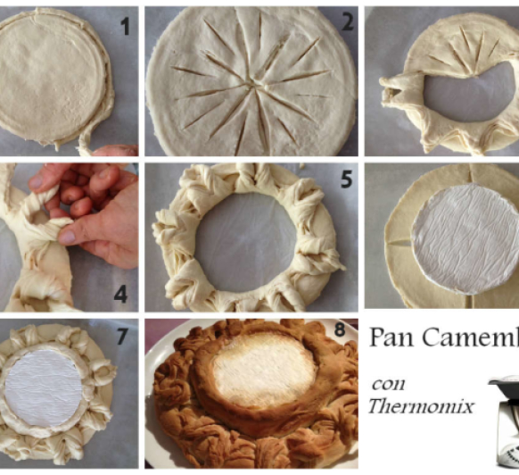 PAN CAMEMBERT con Thermomix®