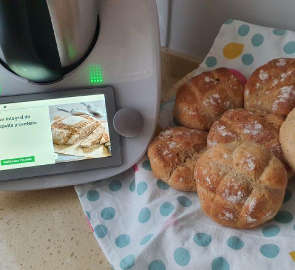 Pan integral de espelta y centeno