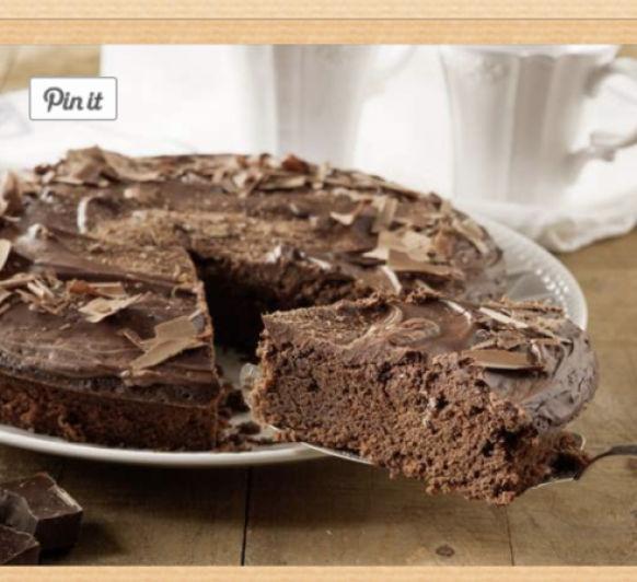 Tarta de chocolate.... espectacular!