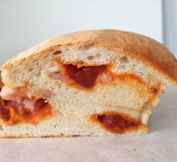 Pan de sidra preñao hecho en Thermomix® , un pan diferente