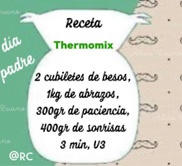 LA MEJOR RECETA PARA EL DIA DEL PADRE CON Y SIN Thermomix® , CLARO