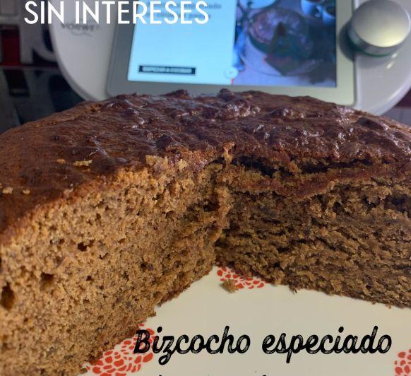 BIZCOCHO ESPECIADO DE CIRUELAS PASAS CON Thermomix® Y COOKIDOO