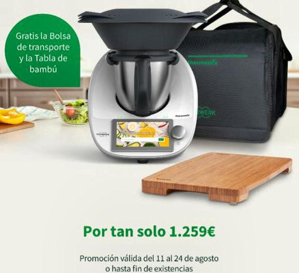 Thermomix® TM6 + BOLSA DE TRANSPORTE Y TABLA DE BAMBÚ DE REGALO